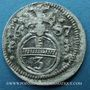 Coins Silésie. Léopold I (1657-1705). 3 pfennig 1687. Opole (Oppeln)