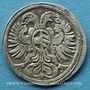 Coins Silésie. Léopold I (1657-1705). 3 pfennig 1689. Opole (Oppeln), écu oval