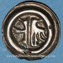 Coins Silésie-Opole. Heller (vers 1450)