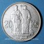 Coins Slovaquie. République. 20 couronnes 1941