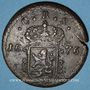 Coins Suède. Charles XI (1660-1697). 1 öre (S.M.) 1676. Avesta