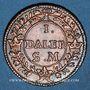 Coins Suède. Charles XII (1697-1718). 1 daler 1718
