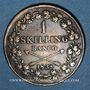 Coins Suède. Charles XIV Jean (1818-1844). 1 skilling 1838