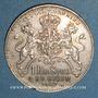 Coins Suède. Oscar I (1844-1859). 1 riksdaler specie 1857ST