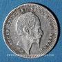 Coins Suède. Oscar I (1844-1859). 10 öre 1858