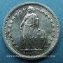 Coins Suisse. Confédération. 1/2 franc 1967