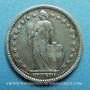 Coins Suisse. Confédération. 1 franc 1877B