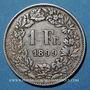 Coins Suisse. Confédération. 1 franc 1899B