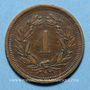 Coins Suisse. Confédération. 1 rappen 1898B