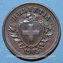 Coins Suisse. Confédération. 1 rappen 1905B