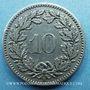 Coins Suisse. Confédération. 10 rappen 1897B