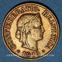 Coins Suisse. Confédération. 10 rappen 1919B