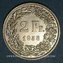 Coins Suisse. Confédération. 2 francs 1958 B