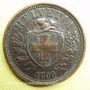 Coins Suisse. Confédération. 2 rappen 1890B