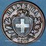 Coins Suisse. Confédération. 2 rappen 1918B