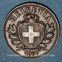 Coins Suisse. Confédération. 2 rappen 1937B