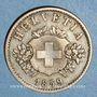 Coins Suisse. Confédération. 20 rappen 1859B