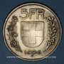 Coins Suisse. Confédération. 5 francs 1926B