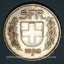 Coins Suisse. Confédération. 5 francs 1933B