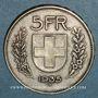 Coins Suisse. Confédération. 5 francs 1935B