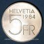 Coins Suisse. Confédération. 5 francs 1984. Auguste Piccard