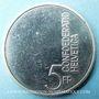 Coins Suisse. Confédération. 5 francs 1985. Année de la Musique