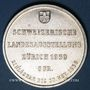 Coins Suisse. Confédération. Module 5 francs 1939. Exposition de Zurich