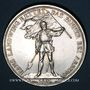 Coins Suisse. Confédération.  Monnaie de Tir. 5 francs 1869. Zug. 6 000 ex !