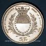 Coins Suisse. Confédération. Monnaie de Tir. 5 francs 1934. Fribourg