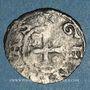 Coins Suisse. Evêché de Genève. Monnayage anonyme (fin 12e - 13e siècle). Denier