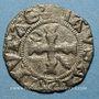 Coins Suisse. Evêché de Lausanne. Guillaume de Challant (1406-1431). Denier, type ancienne monnaie