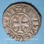 Coins Suisse. Evêché de Lausanne. Monnayage anonyme (fin 13e - moitié 14e siècle). Denier