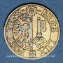 Coins Suisse. Genève. Société Genevoise de Tir de Campagne. 1860. Jeton de tir, laiton