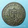 Coins Suisse. Nidwalden. 1/2 batz 1811