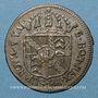 Coins Suisse. Principauté de Neuchâtel. Frédéric Guillaume II (1786-1797). 1/2 batz 1794
