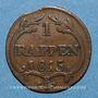 Coins Suisse. Schwyz. 1 rappen 1815