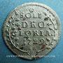 Coins Suisse. Ville de Saint-Gall. 1/2 batz (= 2 kreuzer) 1729