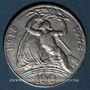 Coins Tchécoslovaquie. République (1918-1948). 100 couronnes n. d. (1948)