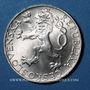 Coins Tchécoslovaquie. République (1918-1948). 50 couronnes n. d. (1948)