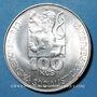 Coins Tchécoslovaquie. République Socialiste (1960-1990). 100 couronnes (1978)