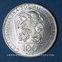 Coins Tchécoslovaquie. République Socialiste (1960-1990). 100 couronnes n. d. (1974)