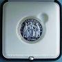Coins Vatican. Benoît XVI (19 avril 2005 -28 février 2013). 10 euro 2005 arg., Année de l'Eucaristie