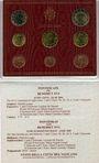 Coins Vatican. Benoît XVI (19 avril 2005-28 février 2013). Série euro 2008