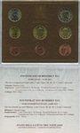 Coins Vatican, Benoît XVI (19 avril 2005- ), série euro 2011