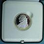 Coins Vatican. Benoît XVI (2005 -). 5 euro 2005. Arg., 60e anniversaire de la fin de la 2e guerre mondiale