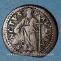 Coins Vatican. Innocent XIII (1721-1724). 1 quattrino. Guebbe