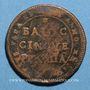 Coins Vatican. Pérouse. 5 baiocchi (1797-1798), an XXIII