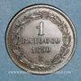 Coins Vatican. Pie IX (1846-1878). 1 baiocco 1850, an V