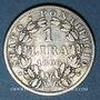 Coins Vatican. Pie IX (1846-1878). 1 lire 1866R, an XXI. Petit buste