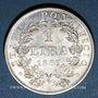 Coins Vatican. Pie IX (1846-1878). 1 lire 1869R, an XXIII. Rome